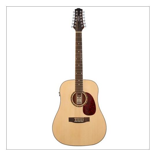 Ashton D25/12EQ NTM - 12-ti strunná kytara