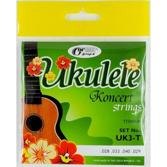 Gorstrings UK3-T - struny pro koncertní ukulele