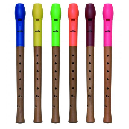 GOLDON - Flétna dřevěná/plastová (42005)