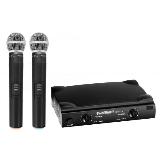 McGrey UHF-2V - bezdrátový mikrofonní set