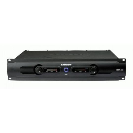 SAMSON Servo 200 - koncový stereo zesilovač