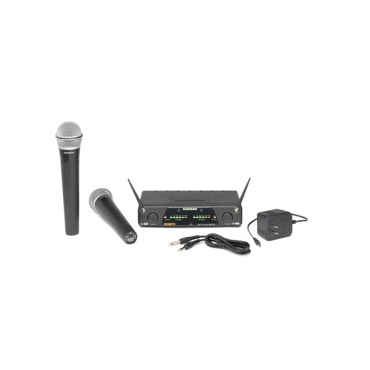 SAMSON SW277VSHQ7 - dvoukanálový bezdrátový systém UHF