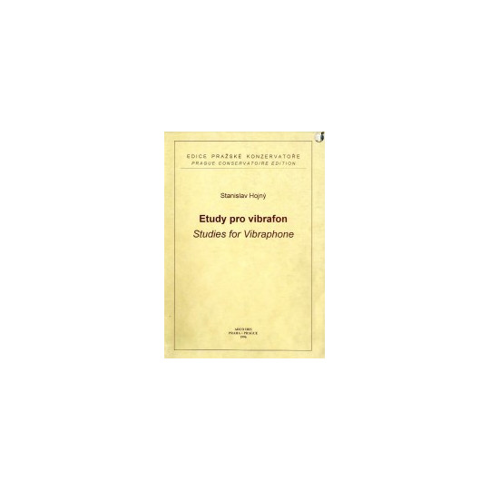Etudy pro vibrafon - Hojný Stanislav