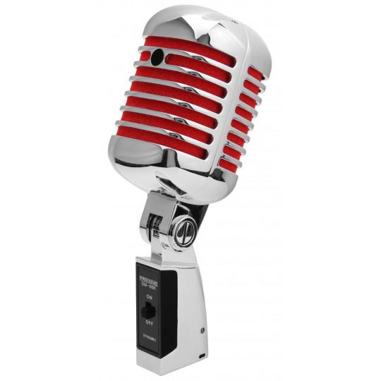 Pronomic DM66 Elvis - dynamický mikrofon - červený