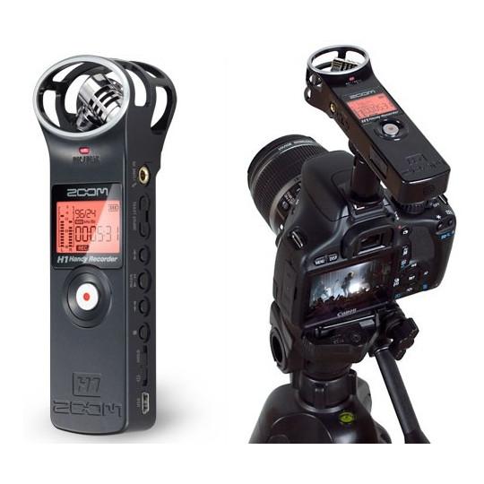 ZOOM H1 V2 BK - kapesní recorder