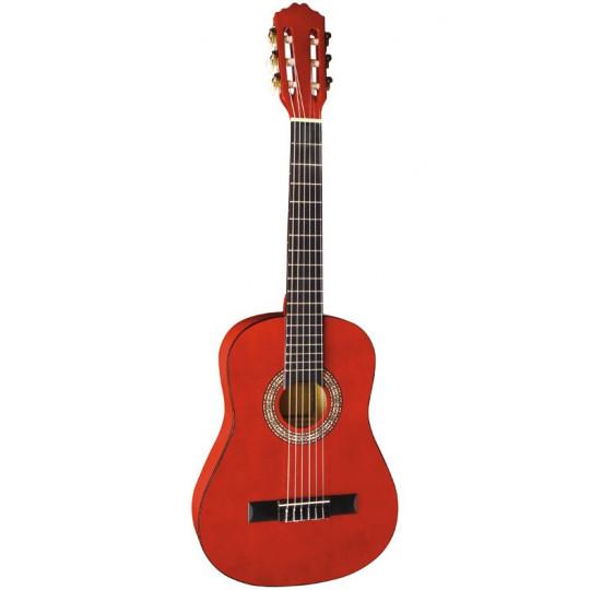 GEWApure Koncertní kytara Almeria Classic 4/4, transparentně červená