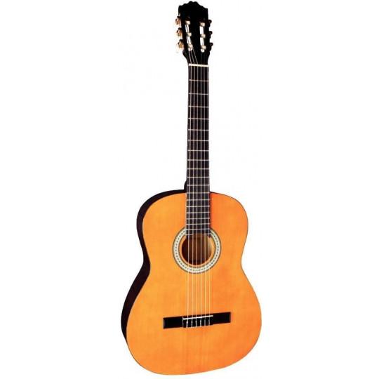 GEWApure Koncertní kytara Almeria Classic 4/4 tónovaná do medové barvy