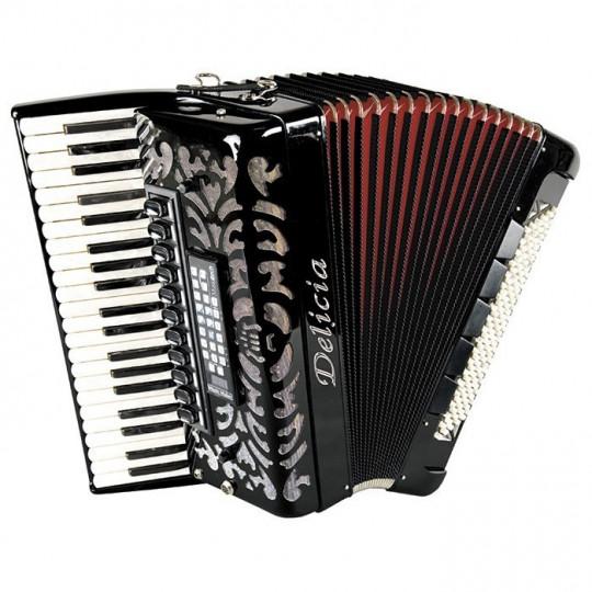 Delicia CHORÁL 24 - klávesový akordeon, MIDI