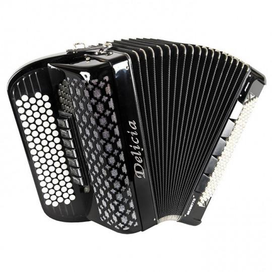 Delicia SONOREX 1222 - B-system - knoflíkový chromatický akordeon