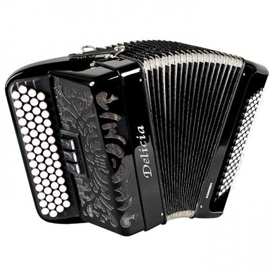 Delicia SONOREX 1233 - C-system - knoflíkový chromatický akordeon