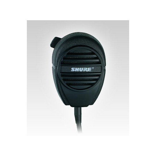 SHURE 514B - dynamický mikrofon se spínačem pro vysílačky