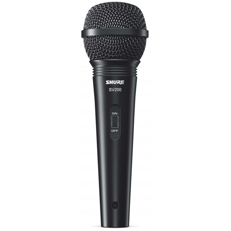 SHURE SV200 - zpěvový mikrofon