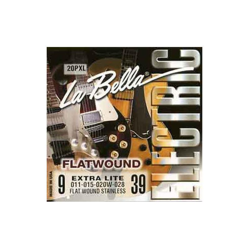 LA BELLA 20PXL Extra Lite -el. kytara