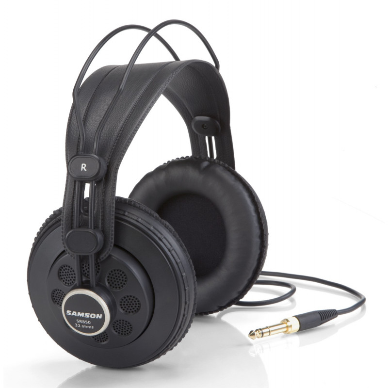 SAMSON SR850 - polouzavřená sluchátka 10Hz-30kHz