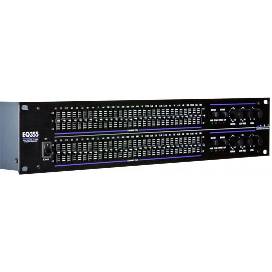 ART EQ-355 -  dvoukanálový 31 pásmový EQ / HP/ LP filtr