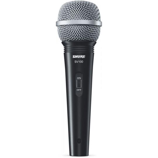 SHURE SV100-A - víceůčelový mikrofon s příslušenstvím