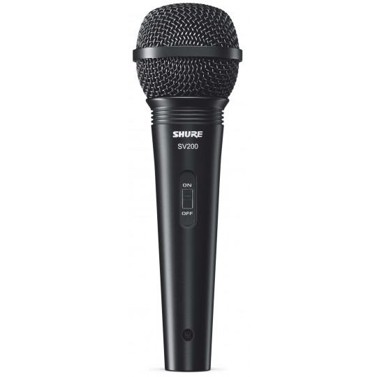 SHURE SV200-A - zpěvový mikrofon s příslušenstvím