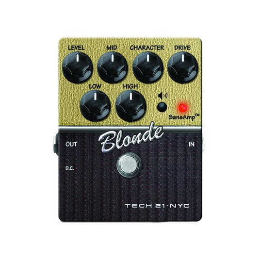 TECH 21 Character Series Blonde V2 - overdrive pedál