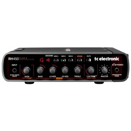 TC ELECTRONIC RH 450 - baskytarový zesilovač 450W