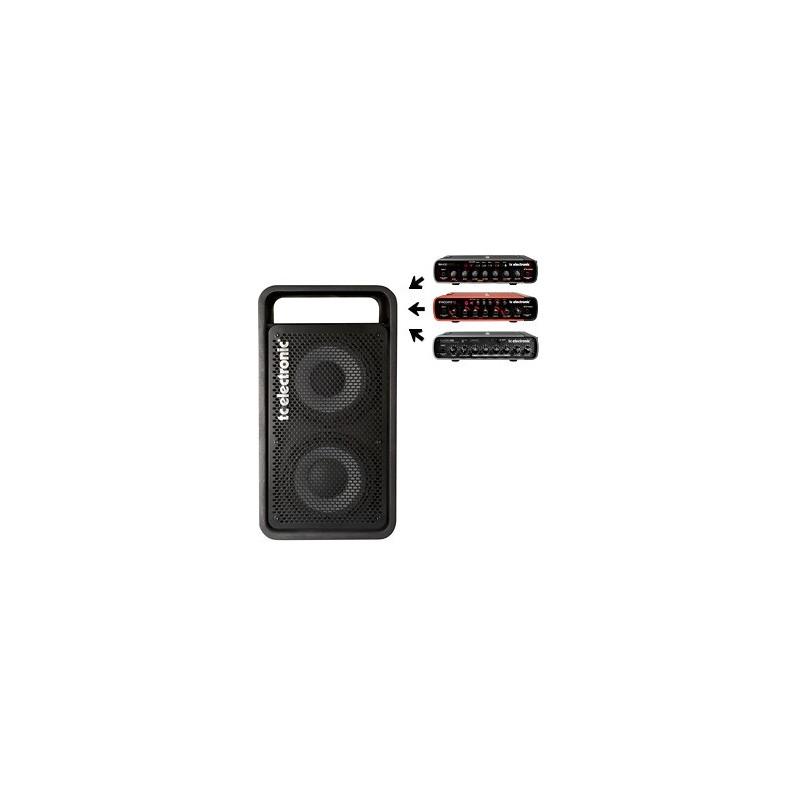 TC ELECTRONIC RS 210 C - kombo reprobox pro zesilovače serie RH