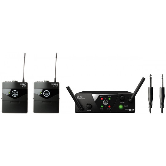 AKG WMS40 MINI2 INS/D ISM2/3 - bezdrátový systém
