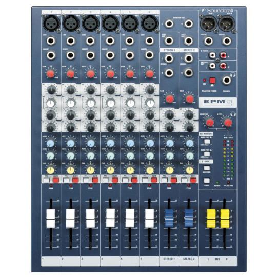 SOUNDCRAFT EPM 6 - mixážní pult