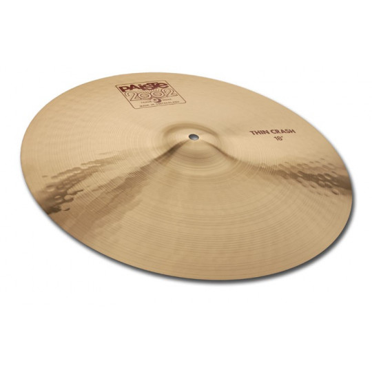 PAISTE 2002 thin crash 16""