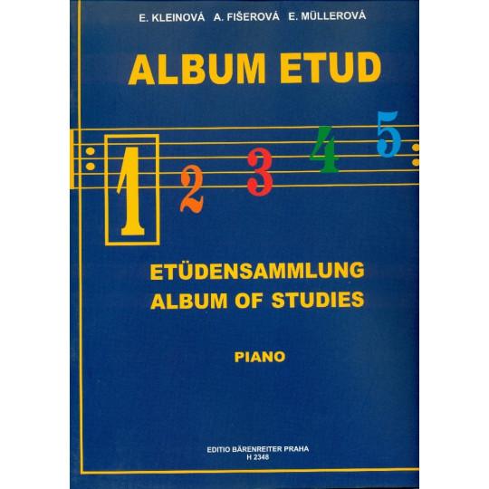ALBUM ETUD 1 - PIANO, Kleinová, Fišerová, Müllerová