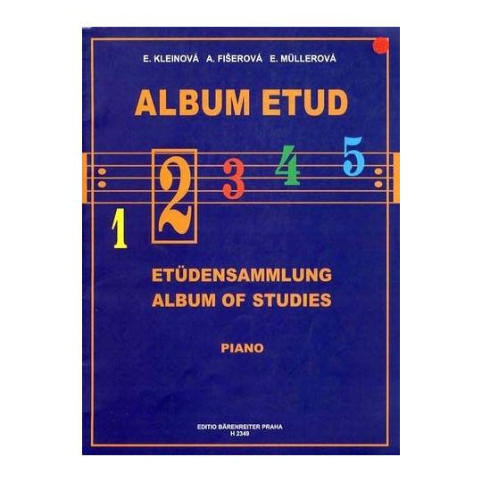 ALBUM ETUD 2 - PIANO, Kleinová, Fišerová, Müllerová