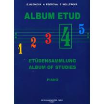 ALBUM ETUD 4 - PIANO, Kleinová, Fišerová, Müllerová