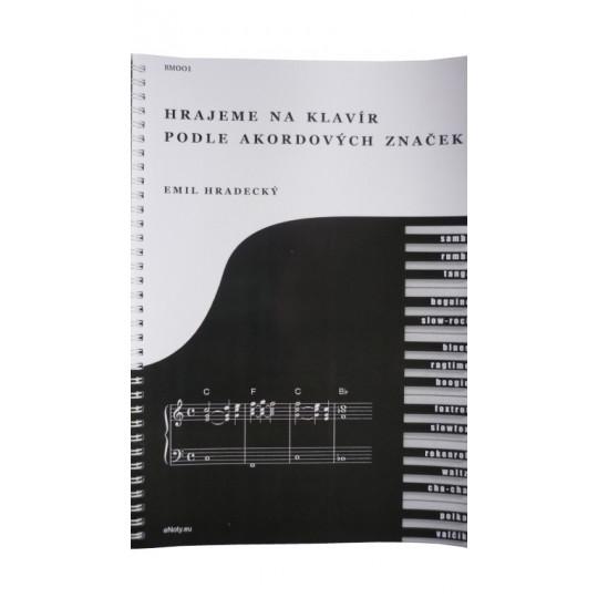 Hrajeme na klavír podle akordových značek - Hradecký