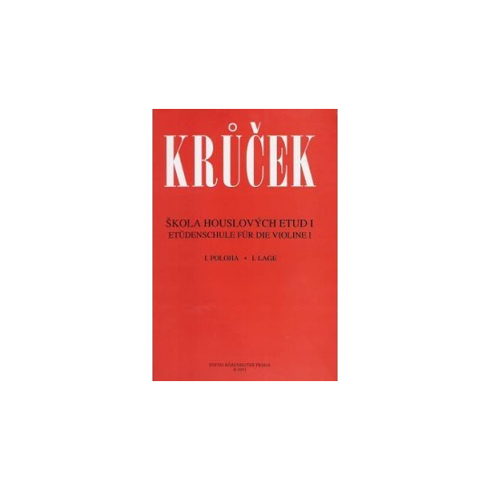Škola houslových etud I. - Václav Krůček