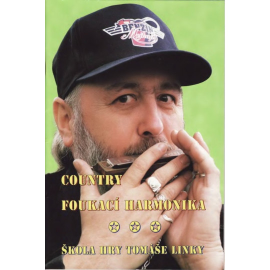 Country foukací harmonika + CD - Tomáš Linka