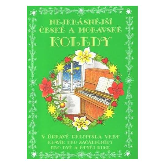 Nejkrásnější čes.a morav. koledy (klavír)