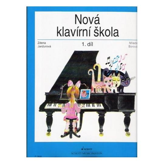 Nová klavírní škola 1. díl - Janžurová