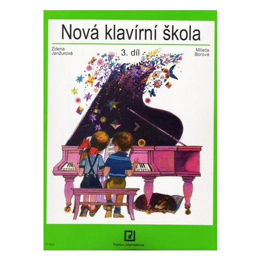 Nová klavírní škola 3. díl - Janžurová