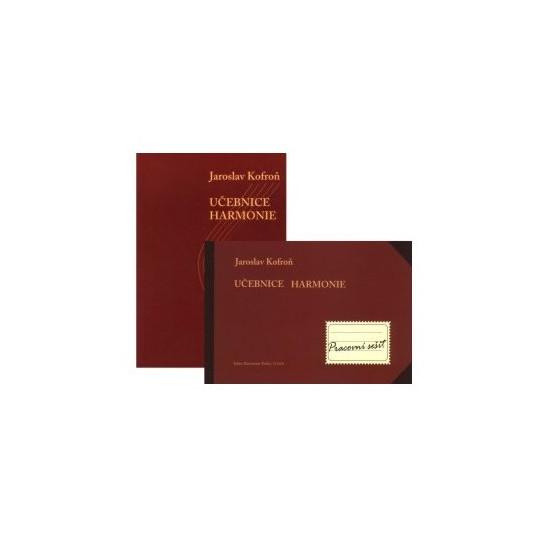 Učebnice harmonie+prac.sešit - Kofroň