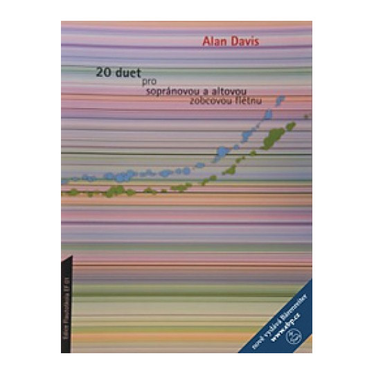 20 duet pro sopránovou a alt. flétnu - Alan Davis