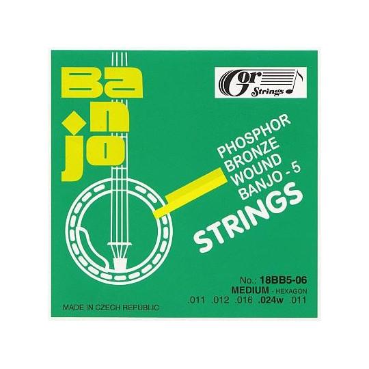 Struny banjo 18BB5-06 sada 11-24