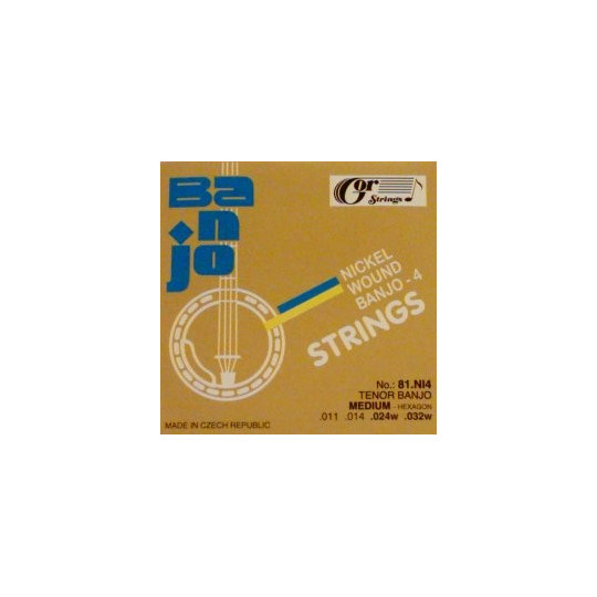 Struny tenor banjo 81NI4 sada, .011-.032w