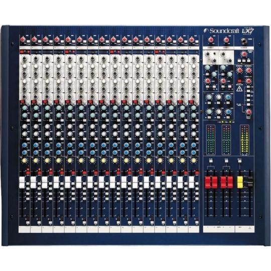 Soundcraft LX7ii16ch - mixážní pult, 16 kanálů