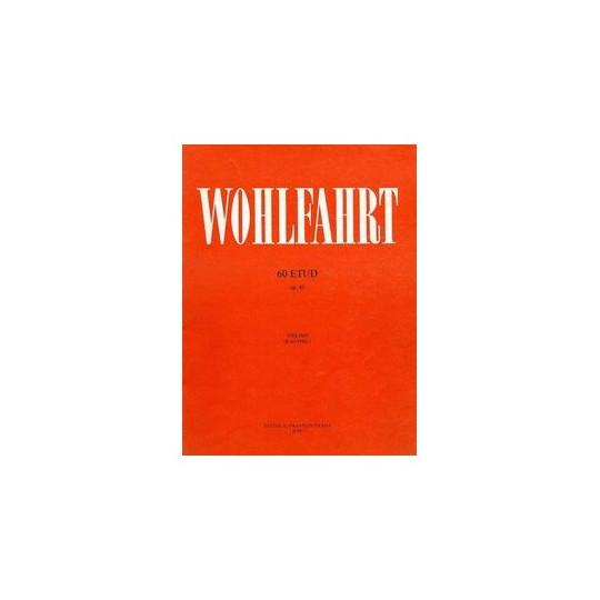 Wohlfahrt Franz - 60 etud op. 45 pro housle