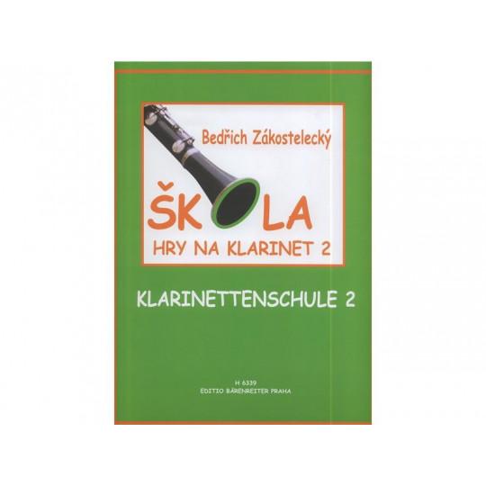 Škola hry na klarinet 2 - Bedřich Zákostelecký