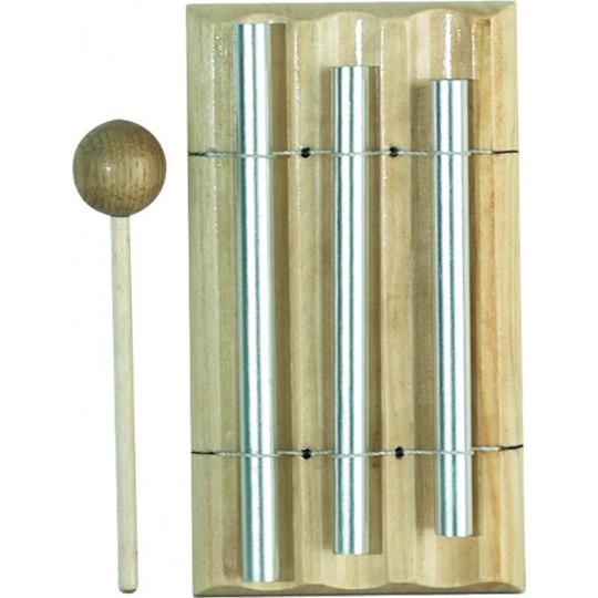 GOLDON Chime bar - jednoduchý metalofon, 3 trubičky (11305)