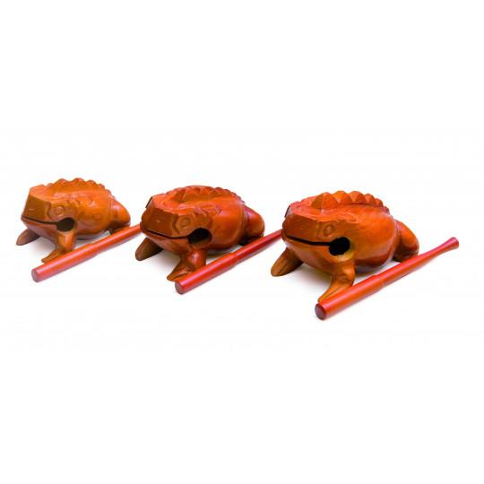 GOLDON Guiro žabák, střední (35610)