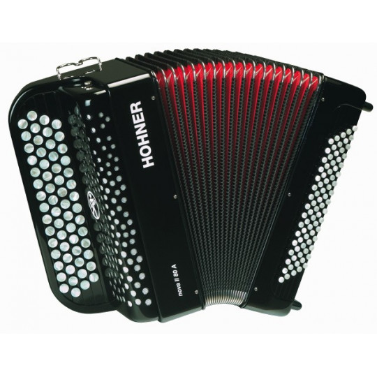 HOHNER Nova II 80 A - black, C-stepped