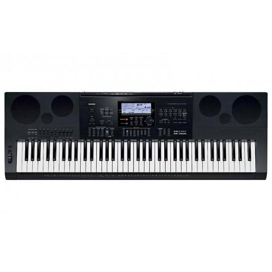 Casio WK 7600 dynamické klávesy