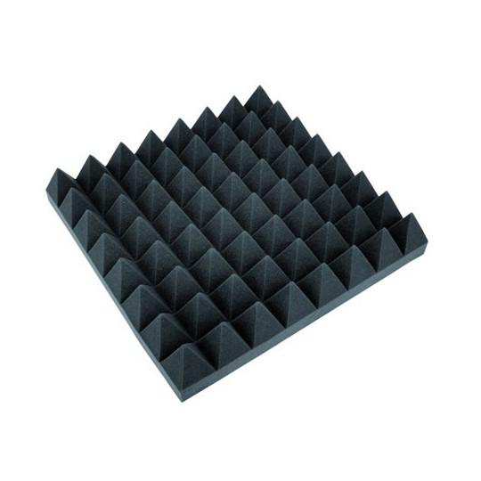 Akustická pěna, pyramidy 100 mm, 50 x 50 cm