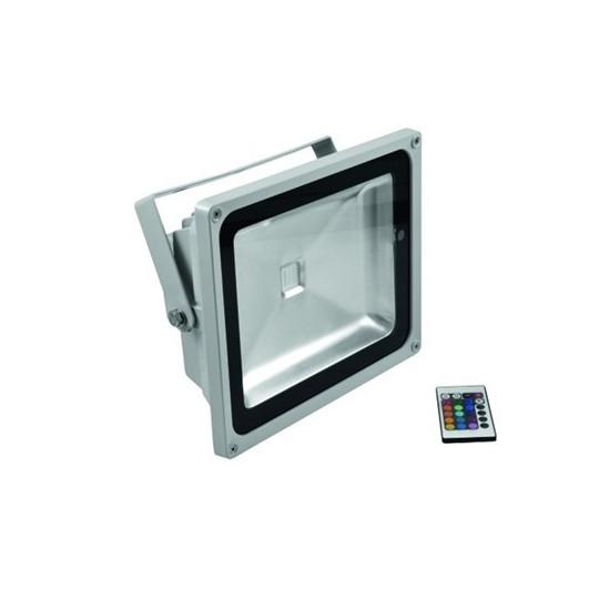 Eurolite LED IP FL-50 COB RGB 120° s dálkovým ovladačem