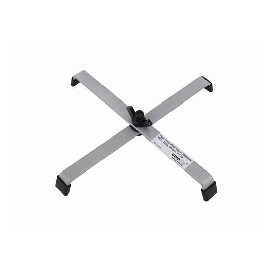 Eurolite FS-1 podlahový stojan, ocelový, stříbrný